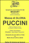 PUCCINI-MESSA DI GLORIA